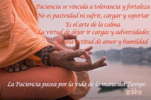Paciencia y sabiduría