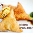 Samosas: Empanadillas