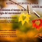RETIRO AYURVEDA Y YOGA: AIRES DE VATA