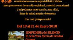 RETIRO de AYURVEDA, YOGA y ASTROLOGÍA VÉDICA